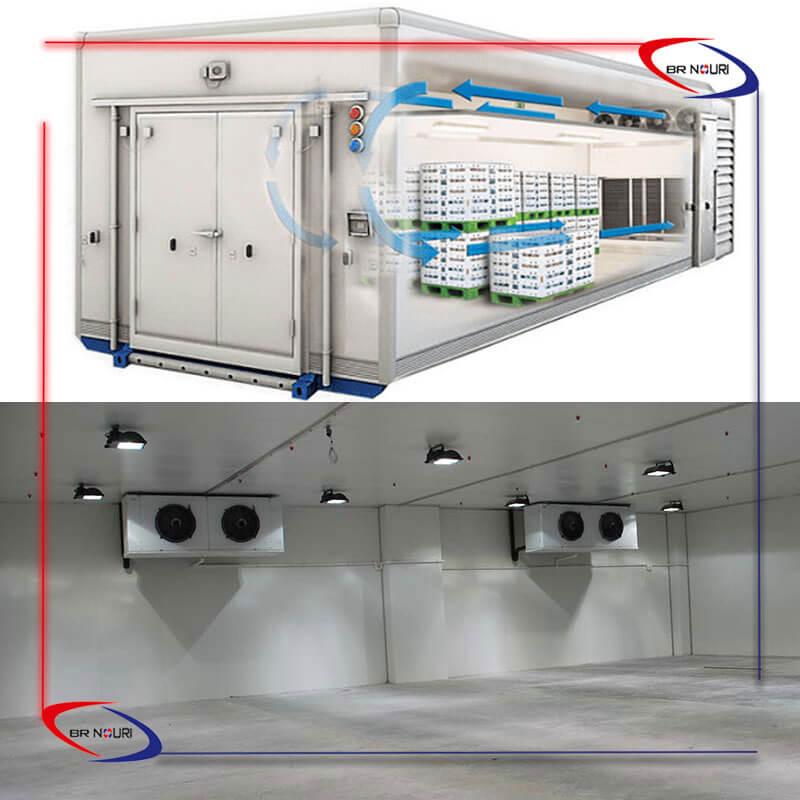 تفاوت تونل انجماد سریع و سردخانه